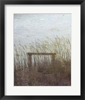 Through the Dunes I Framed Print