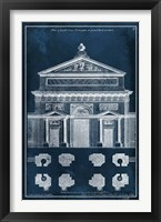 Framed Palace Facade Blueprint I