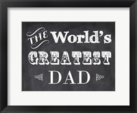Framed World's Greatest Dad