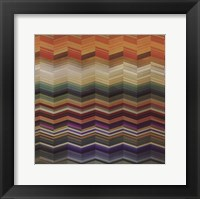 Color & Cadence II Framed Print
