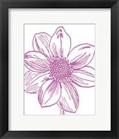 Florette I Framed Print