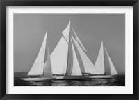 Framed Sailing Together