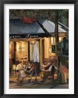 La Brasserie III Framed Print