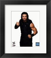 Framed Roman Reigns Wrestler