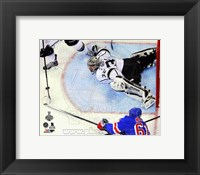 Framed Jonathan Quick Game 3 of the 2014 Stanley Cup Finals Action