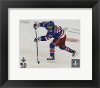 Framed Mats Zuccarello Game 4 of the 2014 Stanley Cup Finals Action