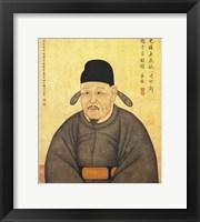 Framed Portrait Jeongmongju