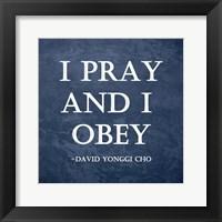 Framed I Pray