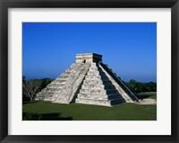 Framed High angle view of a pyramid, El Castillo