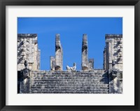 Framed Chac Mool Temple of the Warriors Chichen Itza