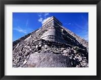 Framed El Castillo Chichen Itza