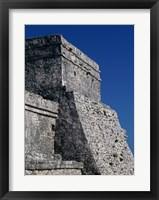 Framed Wall of a building, El Castillo