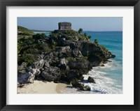 Framed Ruins on a cliff, El Castillo