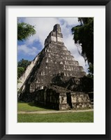 Framed Facade of the Temple of the Great Jaguar, Tikal