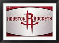 Framed Houston Rockets - Logo 14
