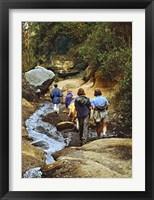 Framed Hiking Hells Gate Kenya Africa