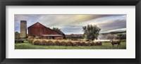 Framed Hay Harvest