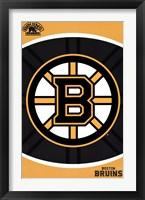 Framed Boston Bruins® - Logo 14