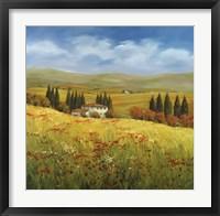 Framed Lo Splendor De La Toscana
