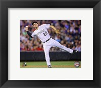 Framed Nolan Arenado Baseball Passing