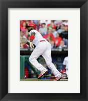 Framed Ryan Howard 2014 Action