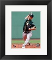Framed Sonny Gray on field 2014