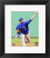 Framed Mark Buehrle 2014 in Action