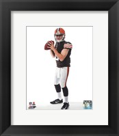 Framed Johnny Manziel 2014 Posed