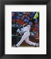 Framed Adrian Beltre 2014 Action