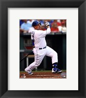 Framed Billy Butler 2014