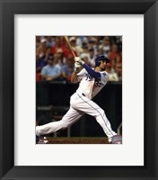 Framed Eric Hosmer Baseball Bat Swing