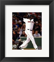 Framed David Ortiz on field 2014