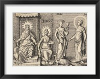 The Greek Gods Jupiter Framed Print