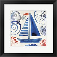 Framed Come Sail Away