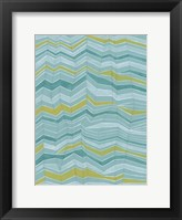 Framed Tectonic Stripes I
