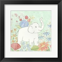 Nick's Animal Garden I Framed Print