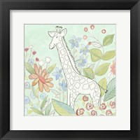 Nick's Animal Garden III Framed Print