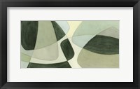 Verdigris Intersection II Framed Print