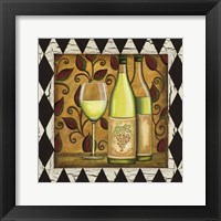 Framed Harlequin & Wine II