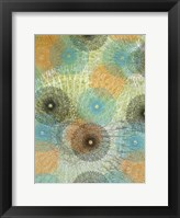 Scribble Graph I Framed Print