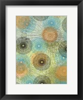 Scribble Graph II Framed Print