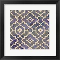 Framed Morocco Tile III