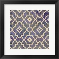 Framed Morocco Tile IV