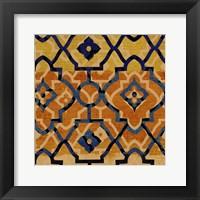 Framed Morocco Tile V