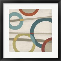 Circular Logic III Framed Print