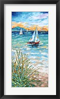 Wind in my Sail I Framed Print