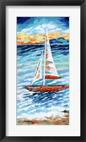 Wind in my Sail II Framed Print