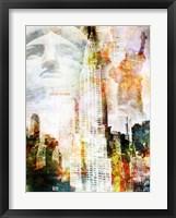 High Above I Framed Print