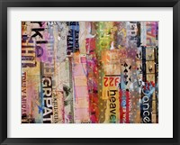 Metro Mix 21 III Framed Print