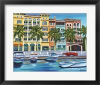 Tropical Rendezvous I Framed Print